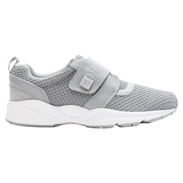 Propet Women's Stability X Strap Sneakers Light Grey
