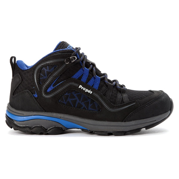 Propet Women's Peak Shoes Black/Royal Blue