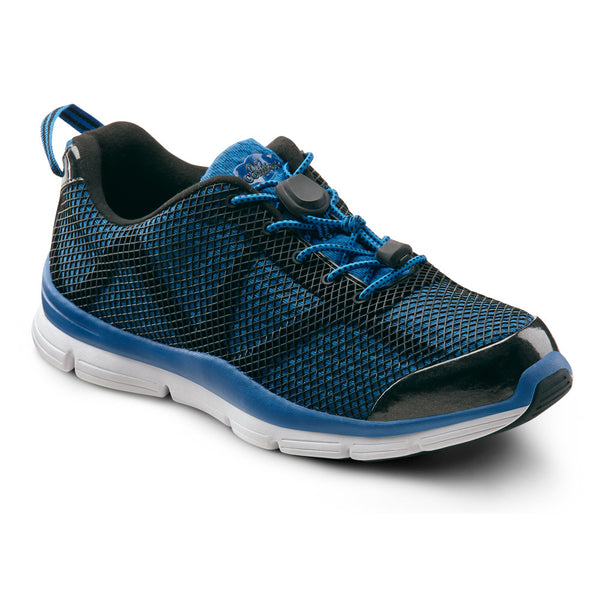 Dr. Comfort Men's Jason Athletic Shoes - Blue