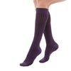 Medi Duomed Freedom Patterned Closed Toe Knee High Socks - 20-30 mmHg - Purple