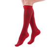 Medi Duomed Freedom Patterned Closed Toe Knee High Socks - 20-30 mmHg - Red