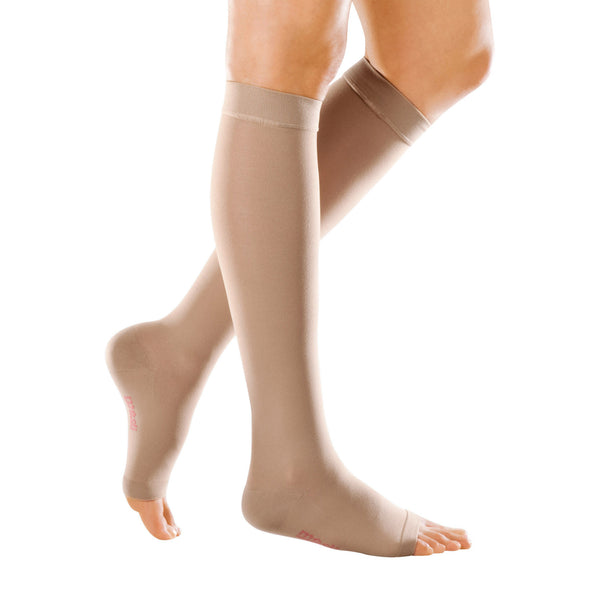 Medi Forte Open Toe Knee Highs - 40-50 mmHg
