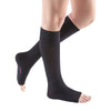 Medi Comfort Open Toe Knee Highs - 20-30 mmHg - Ebony
