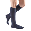Medi Comfort Closed Toe Knee Highs -15-20 mmHg - Navy