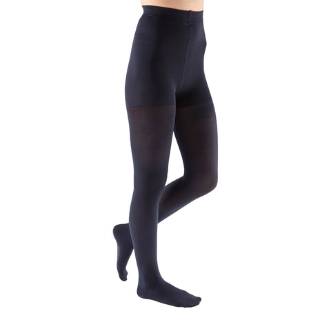 Medi Comfort Closed Toe Pantyhose -15-20 mmHg - Navy