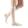 Medi Sheer & Soft Closed Toe Knee Highs- 8-15 mmHg - Wheat