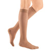 Medi Sheer & Soft Closed Toe Knee Highs- 8-15 mmHg - Natural