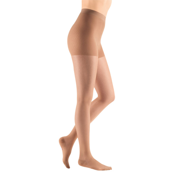 Medi Sheer & Soft Closed Toe Maternity Pantyhose - 20-30 mmHg - Natural
