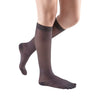 Medi Sheer & Soft Closed Toe Knee Highs- 20-30 mmHg - Charcoal