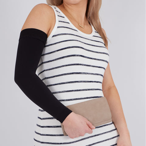 Mediven Comfort Lymphedema Armsleeve - 30-40 mmHg (Extra Wide) Black