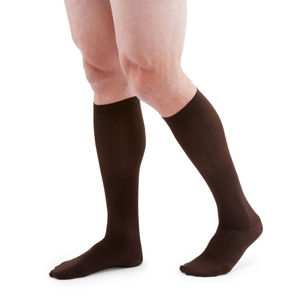 Medi for Men Knee High Classic Socks - 8-15 mmHg Brown