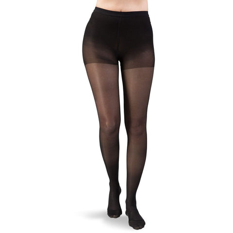 Dr. Comfort Women's Select Sheer Pantyhose - 20-30 mmHg Black