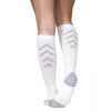 Sigvaris 401 Athletic Recovery Knee High Socks  - 15-20 mmHg - White