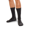 SmartKnit Seamless Wide Diabetic Crew Socks w/X-Static Silver Fibers