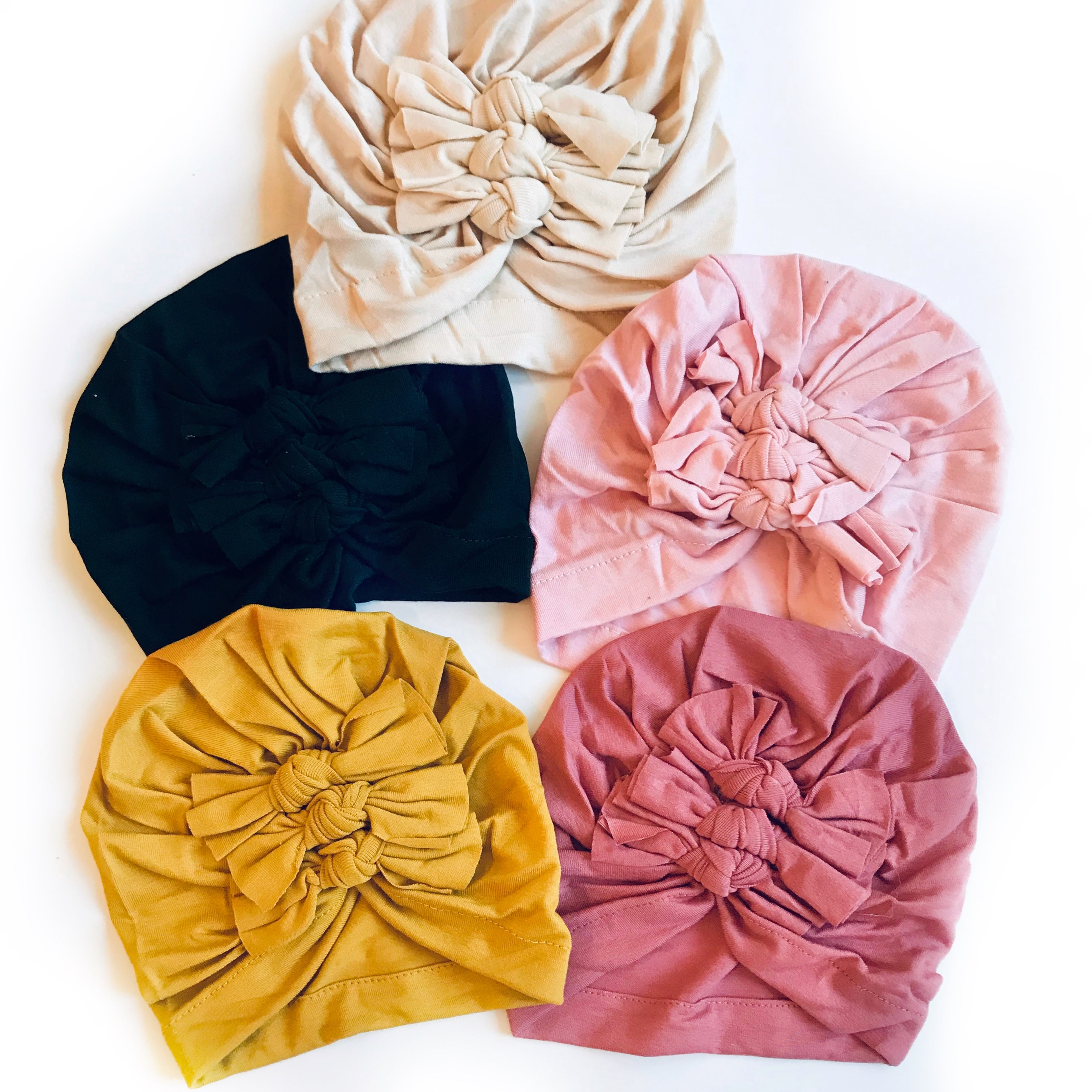 Triple Knot Turban Hat * 5 COLORS!