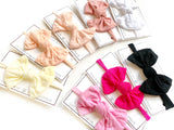 Skinny Nylon Tie Knot Headband * 8 COLORS!