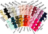 Tie Knot Headwraps *  MANY COLORS!