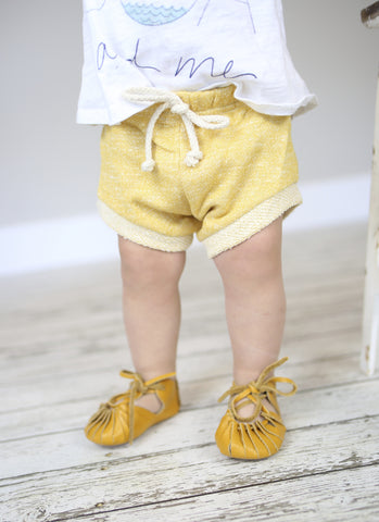 Trendy Yellow Shorts