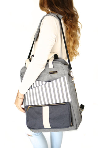 Multi-functional Backpack/Diaper Bag