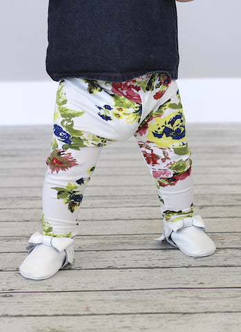 CLEARANCE - FINAL SALE- Floral Leggings