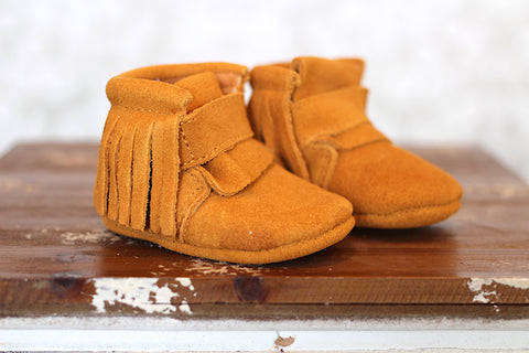 Low Boot Flap Moccasin Boot - 3 colors!