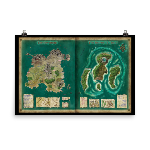 World of Freeport Poster Map