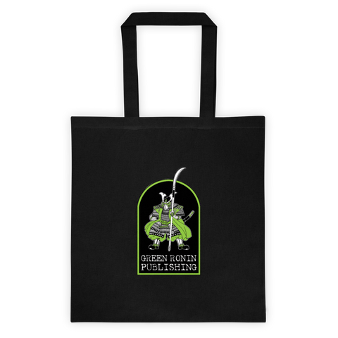 Green Ronin Publishing Logo Black Canvas Tote Bag
