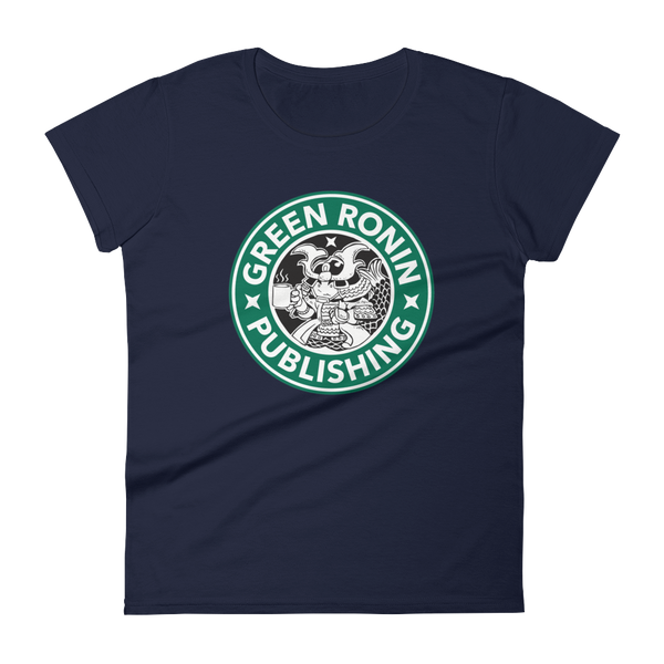 Coffee Ronin Logo Women's Short-Sleeved T-Shirt