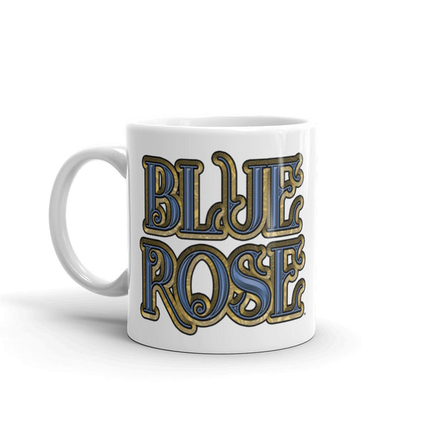 Blue Rose Logo Mug