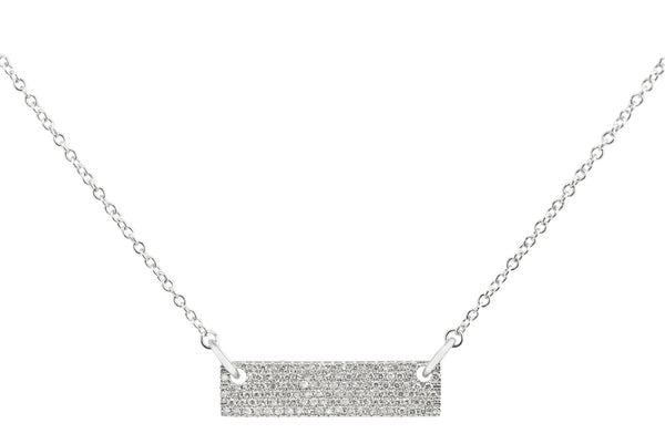 Ebeth Diamond Bar Necklace