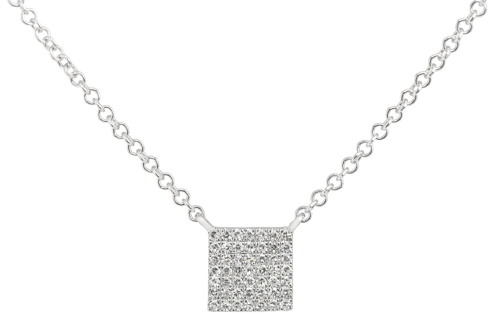 Lynn Diamond Pave Necklace