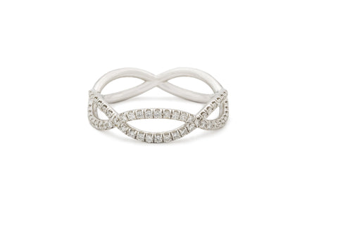 Diamond Open Weave Band