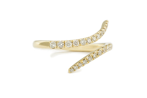 Gia Ring in Yellow Gold
