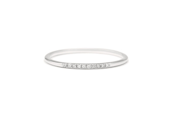 Anya Diamond Ring White Gold