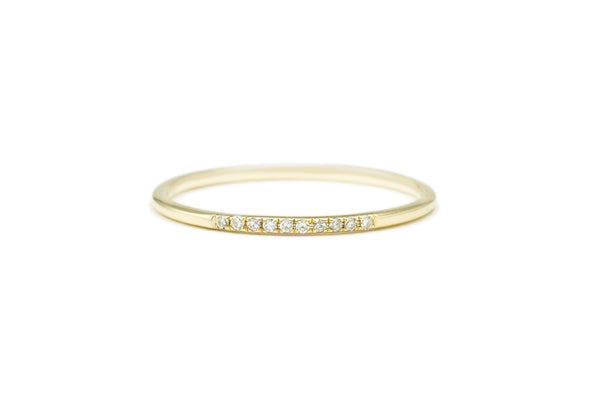 Anya Diamond Ring Yellow Gold