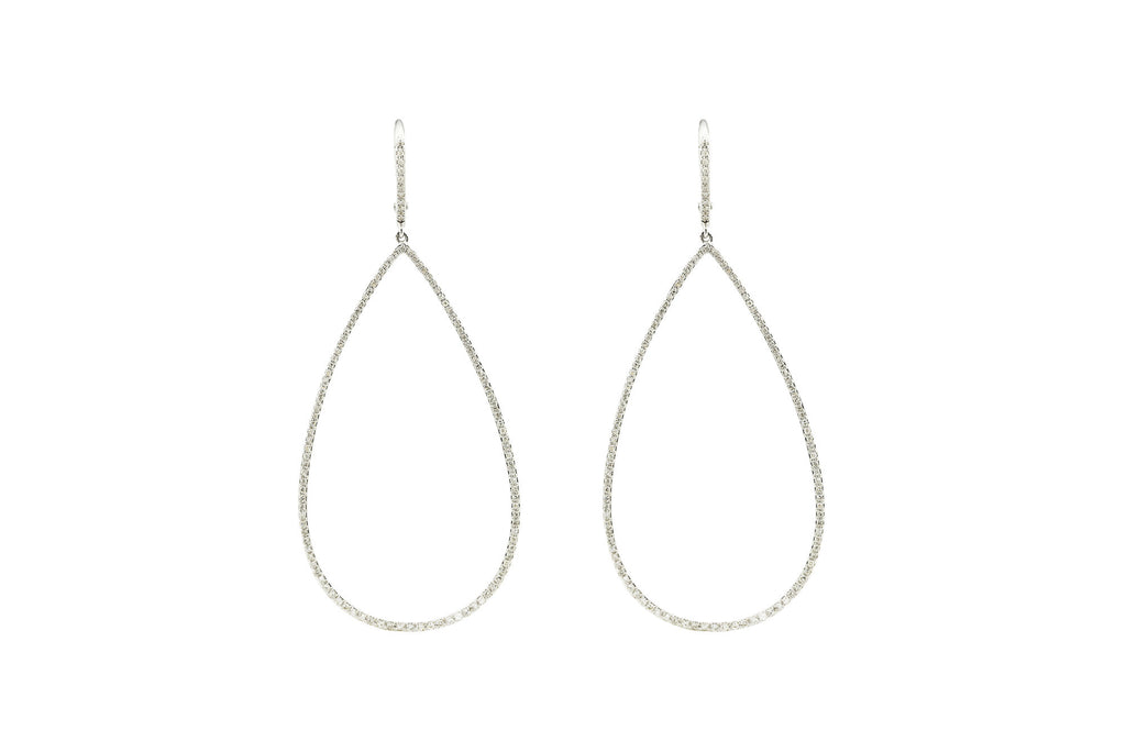 Danielle Diamond Drop Earring