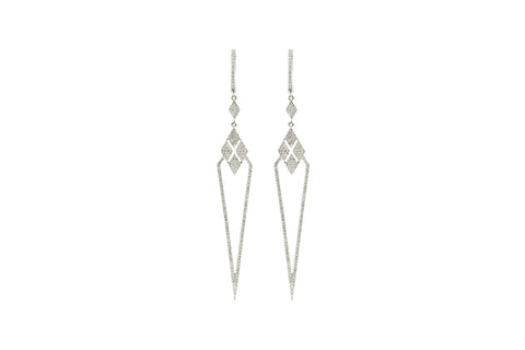 Gabrielle Diamond Drop Earrings