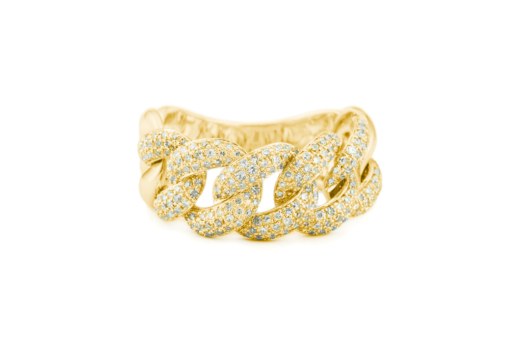 Le Link Ring Yellow Gold
