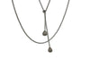 Petite Seed Pod Lariat Necklace