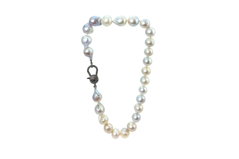 Amita Freshwater Baroque Pearl Necklace