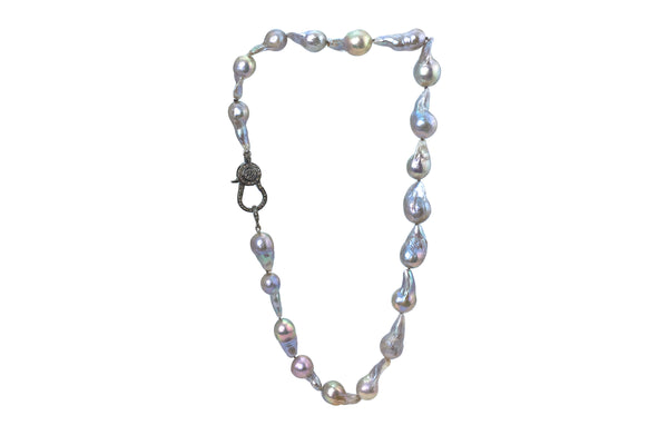 Owen Gray Freshwater Baroque Pearl Necklace