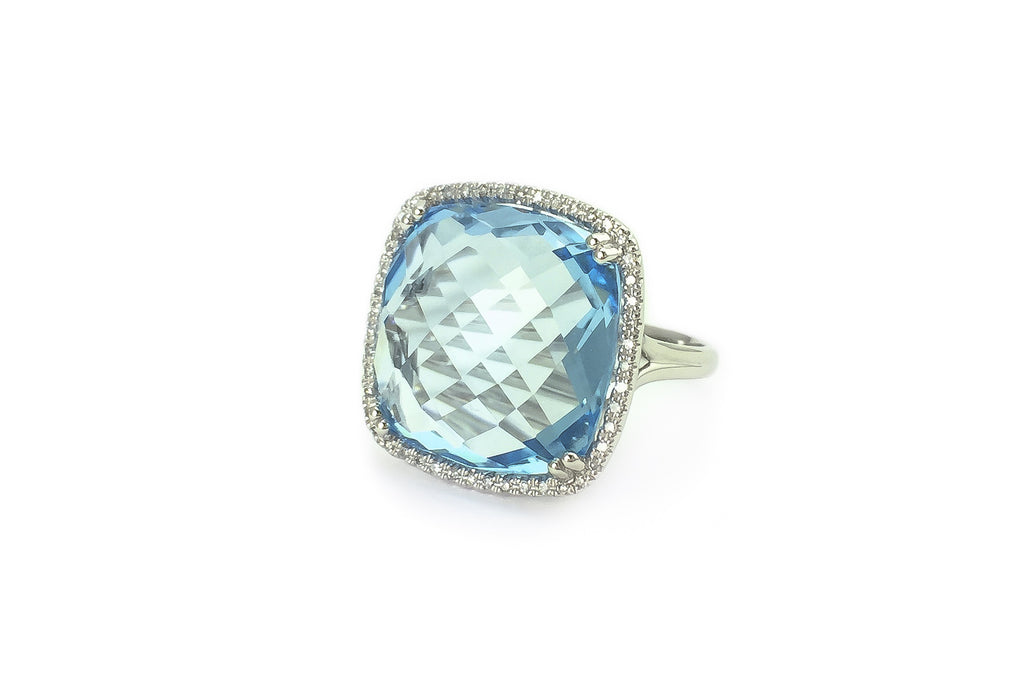 Sweet Blu Blue Topaz Ring