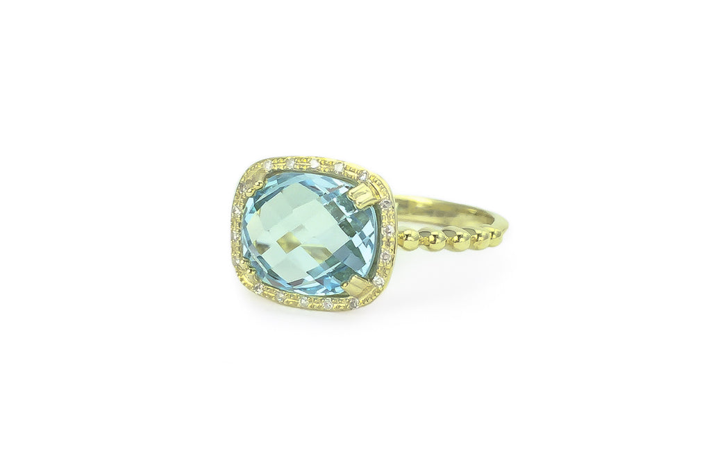 white blue topaz ring p rings gold and