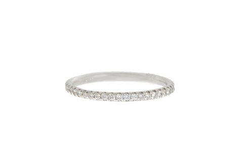 French Cut Diamond Eternity Band