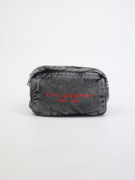 PHILOSOPHY | MARSUPIO IN DENIM CON LOGO
