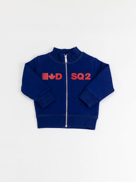DSQUARED | DSQ2 ZIPPED SWEATSHIRT