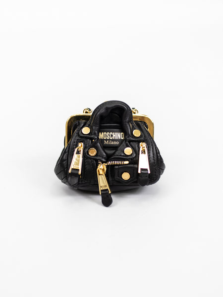 MOSCHINO | MINI BIKER BAG CON CATENA