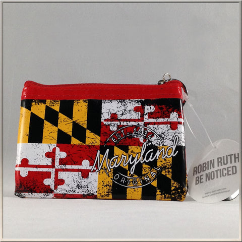 Purse, Coin, Maryland State Flag