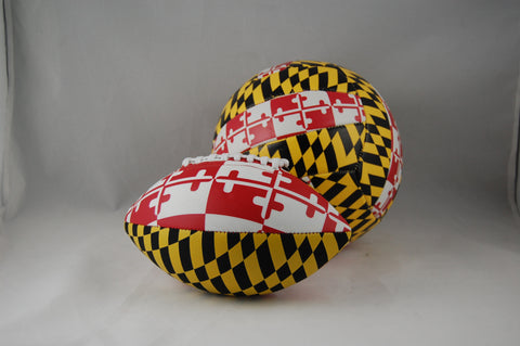 Football, Maryland Logo