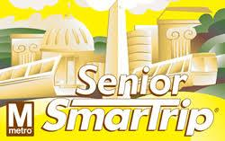 Senior SmarTrip Cards - Cannot be purchased online